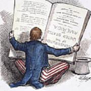 Election Cartoon, 1876 Art Print