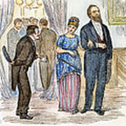 Election Cartoon, 1877 Art Print