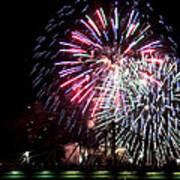 Fireworks Art Print