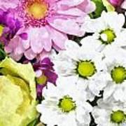 Flowers For The Girlfriend Art Print