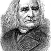 Franz Liszt (1811-1886) Art Print