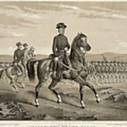 Franz Sigel (1824-1902) Art Print