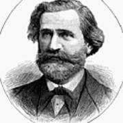 Giuseppe Verdi (1813-1901) Art Print