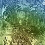 Grants Canal, 1862 Art Print