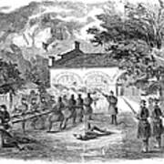 Harpers Ferry, 1859 Art Print