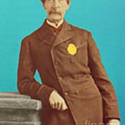 Henry Bergh, American Founder Of Aspca Art Print