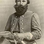 Jeb Stuart, Confederate General Art Print