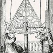Johannes Hevelius, Polish Astronomer Art Print by Science Source
