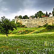 Kalemegdan Fortress In Belgrade Art Print by Elena Elisseeva