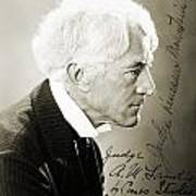 Kenesaw Mountain Landis Art Print