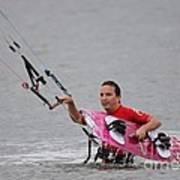 Kite Boarding Art Print