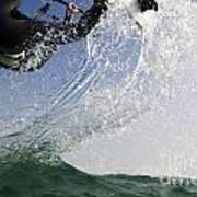 Kitesurfing Board Art Print