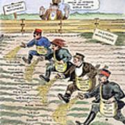 League Of Nations Cartoon Art Print by Granger