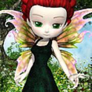 Lil Fairy Princess Art Print