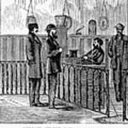 Ludlow Street Jail, 1868 Art Print