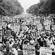 March On Washington. 1963 Print by Granger