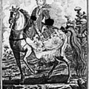 Marquise De Pompadour Art Print