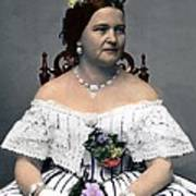 Mary Todd Lincoln 1818-1882, Wife Art Print by Everett