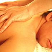 Massage Art Print