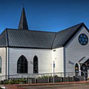 Norwegian Church Cardiff Bay Art Print