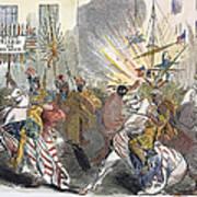 Presidential Campaign, 1844 Art Print