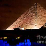 Pyramids Of Giza Art Print
