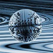 Quantum Computing Art Print