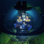 Research Submarine Art Print