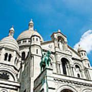 Sacre Coeur Basilica Paris France Art Print
