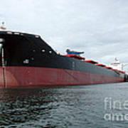 Tanker Ship  Art Print