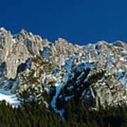 Tatra Mountains Winter Scenery Art Print