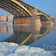 The Bridge Art Print by Odon Czintos