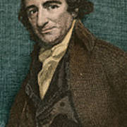 Thomas Paine, American Patriot Art Print by Photo Researchers