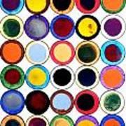 30 Circles Art Print