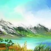 30 Minute Landscape Art Print