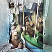 #31 Verticalnudecomp 2003 Art Print