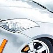 350z Car Front Close-up  Art Print