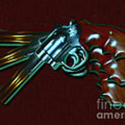 357 Magnum - Painterly Art Print