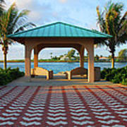 36- Palm Beach Inlet Art Print