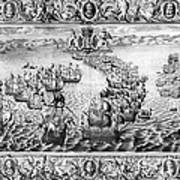 Spanish Armada, 1588 Art Print