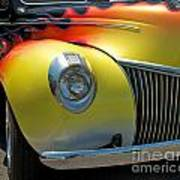 39 Ford Deluxe Hot Rod 3 Art Print