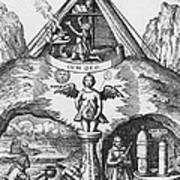 Alchemy Art Print by Science Source
