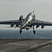 An Ea-6b Prowler Launches Art Print