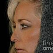 Blond Woman Art Print