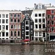 City Scenes From Amsterdam Art Print