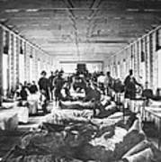 Civil War: Hospital Art Print