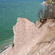 Coastal Erosion Art Print