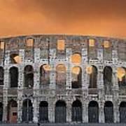 Colosseum. Rome Art Print