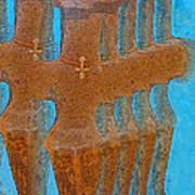 Cyprus Idol Of Pomos Art Print