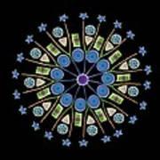Diatom Assortment, Sems Art Print by Steve Gschmeissner